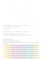 (4 pages, 15 x 21 cm, 2005)