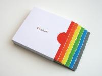 (coffret 6 livres (rouge, orange, jaune, vert, bleu, gris), 16 pages, 8 x 8 cm, impression numérique, 8 exemplaires (sur demande), 2015)